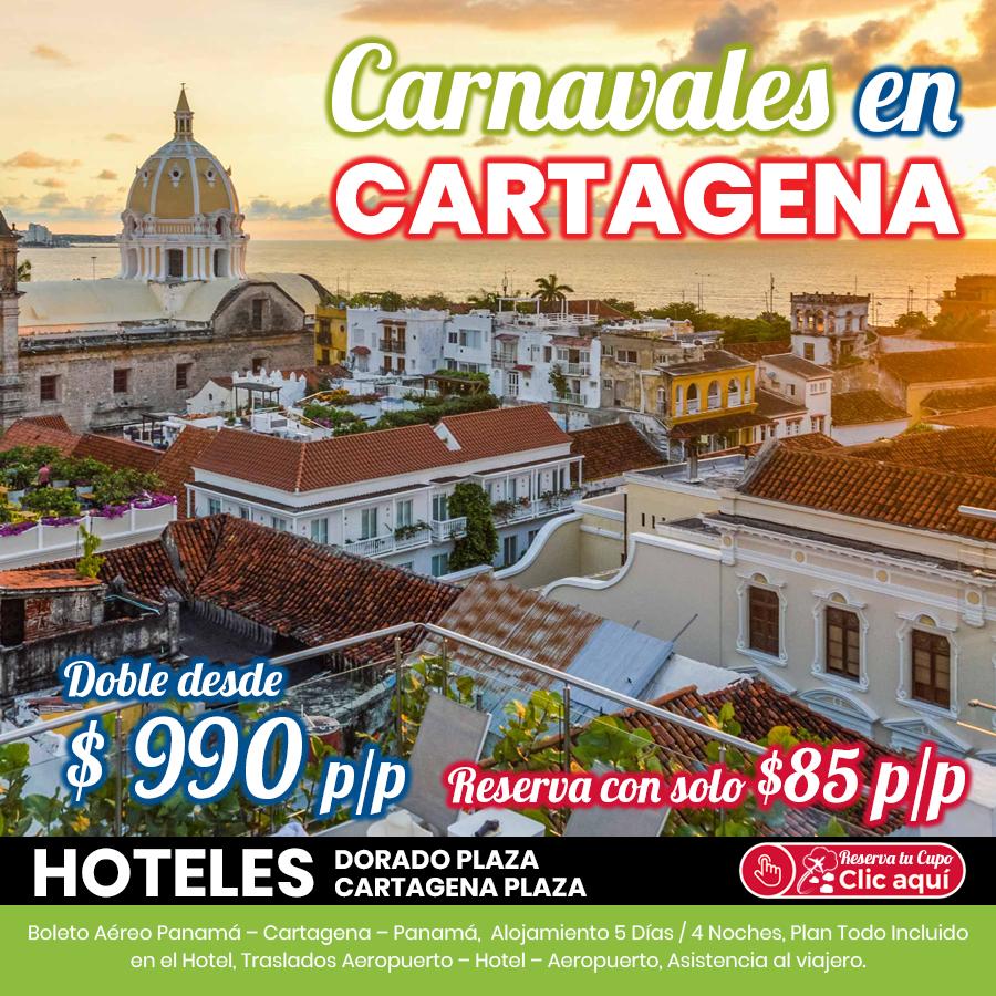 Carnavales en Cartagena