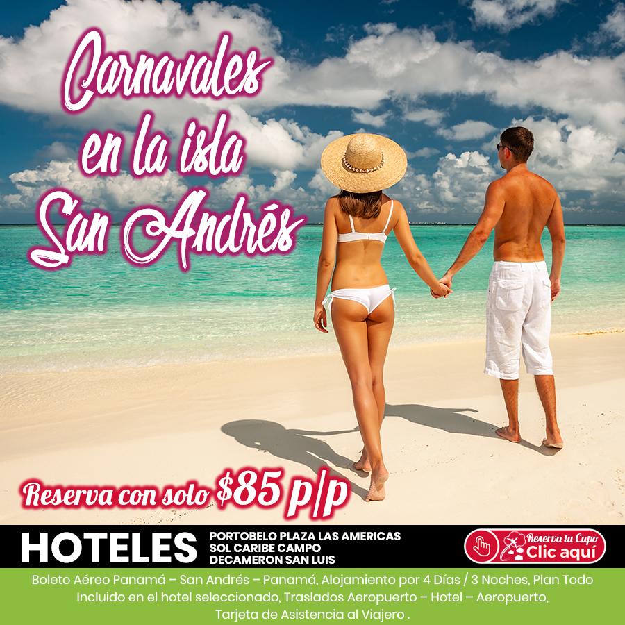 Carnavales en la Isla San Andrés