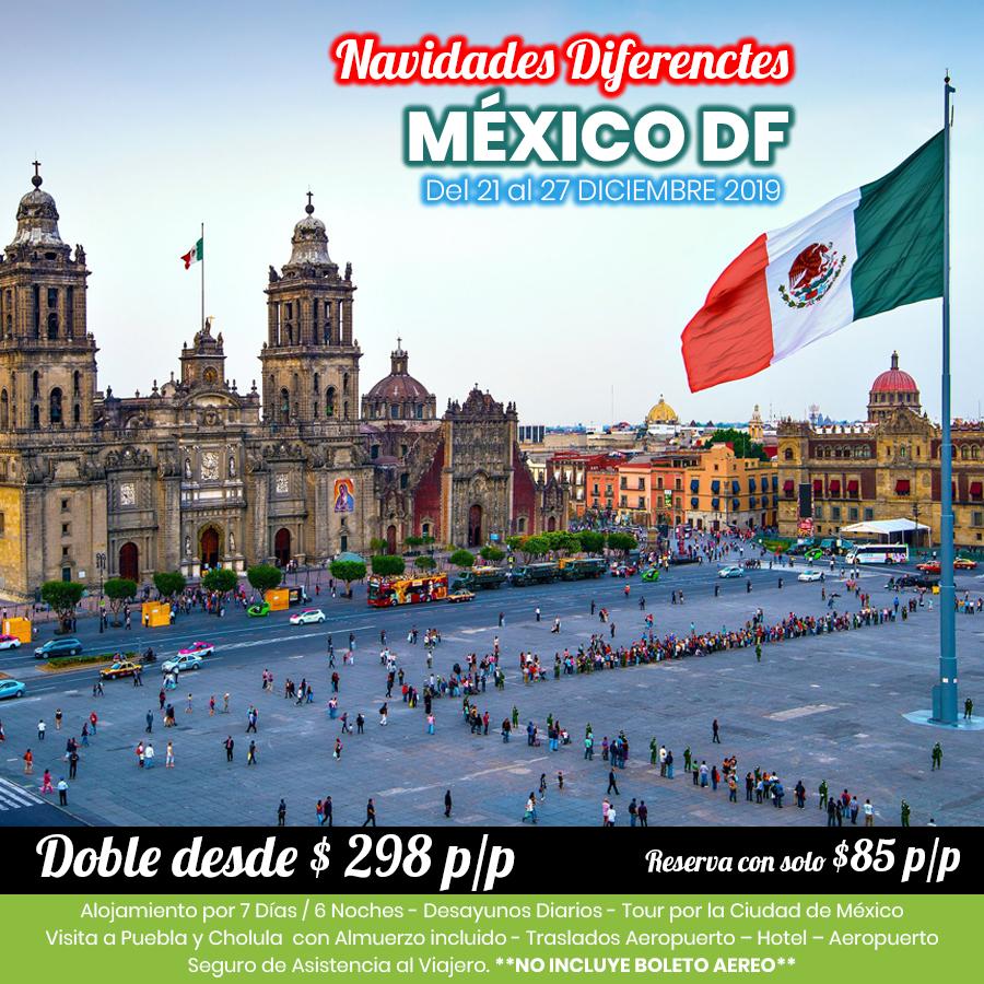 Navidades en México DF