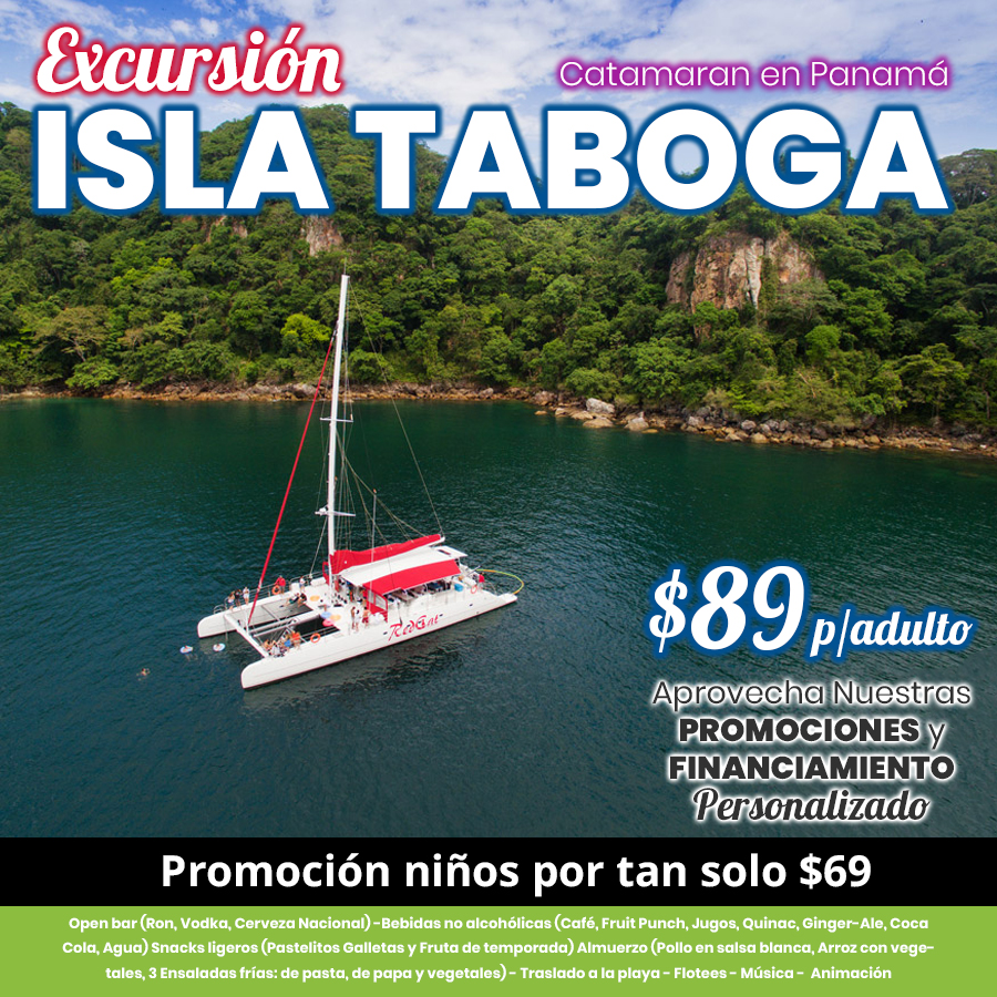 Catamaran a la Isla Taboga