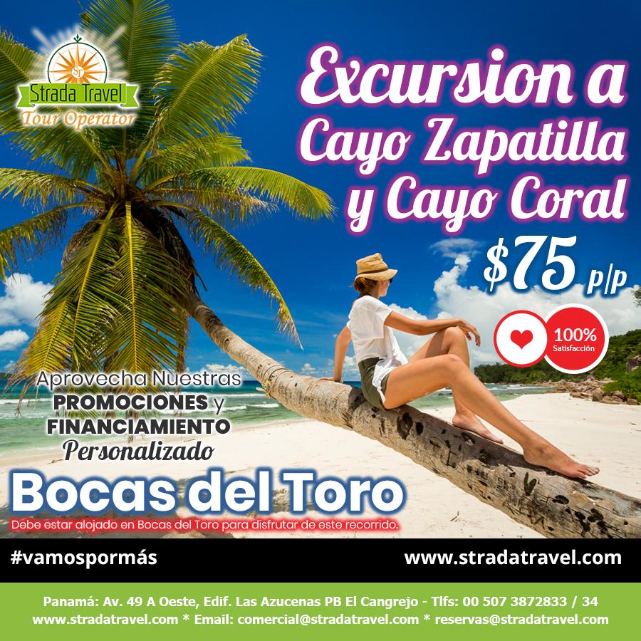 Cayo Zapatilla y Cayo Coral