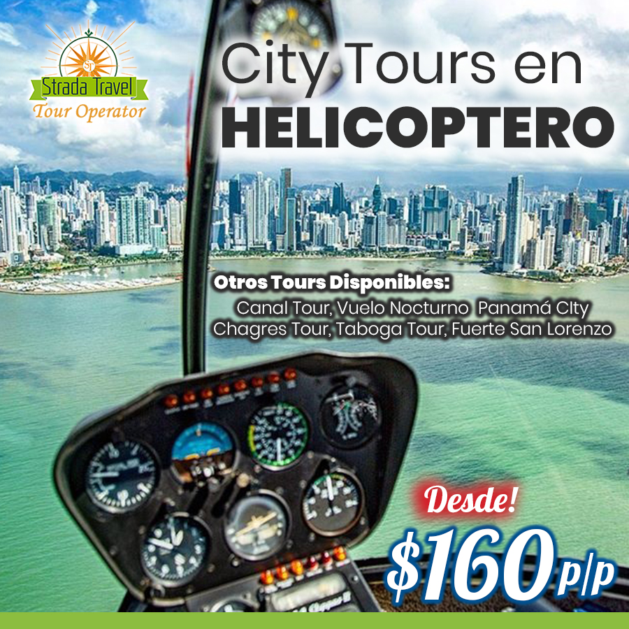Tours en Helicóptero en Panamá