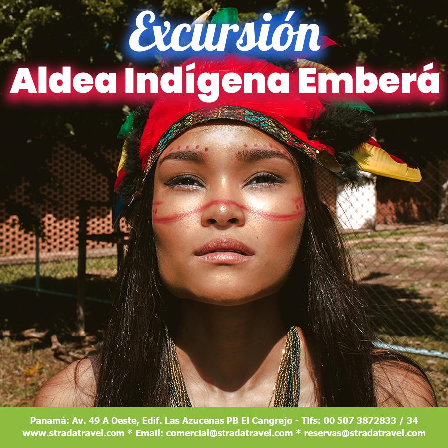 Excursión a la Aldea Indígena Emberá