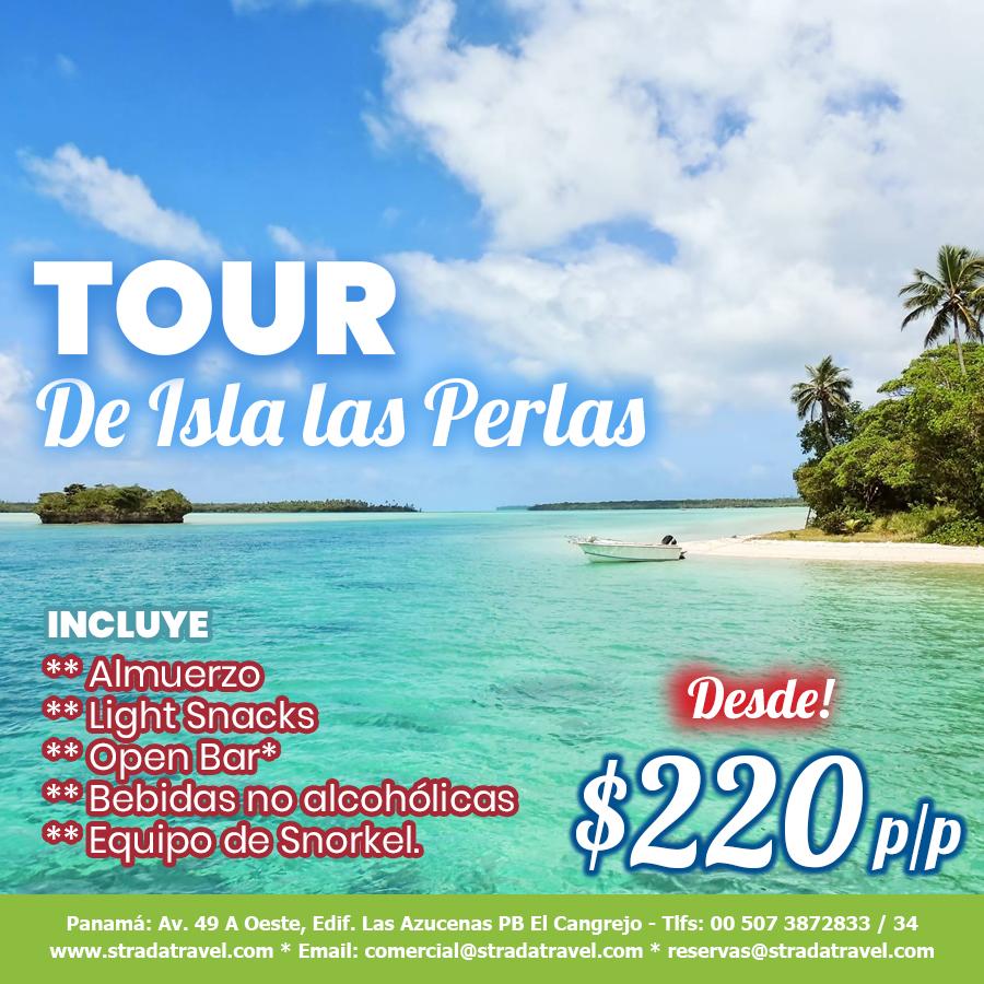 TOUR DE ISLA LAS PERLAS